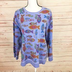 Fresh Produce Fish Sweatshirt